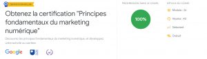 certification google marketing digital - chroniques marketing