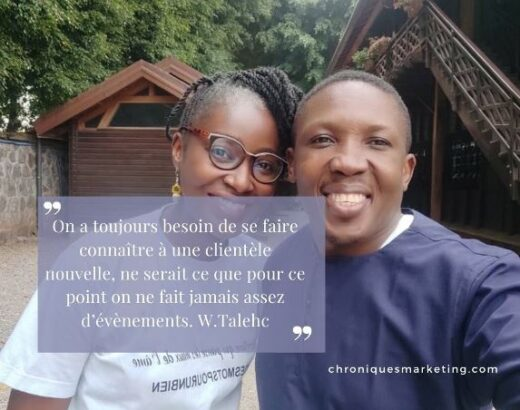 Echange avec William Talehc, expert en évènementiel cameroun