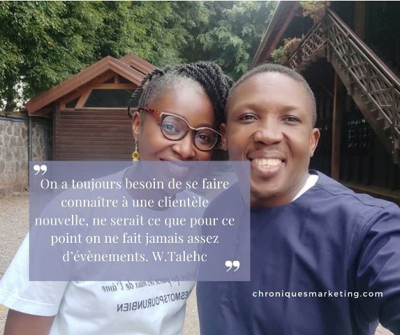 Echange avec william talehc, expert en evenementiel – Cameroun